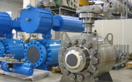 Ball valves high pressure cl2500 16 inch, high temperature, electric / pneumatic actuators, refinery in China