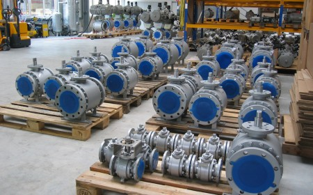 Ball valves, forged body, metal seated for refinery application, sizes 2 inch to 16 inch, cl300 generally, China